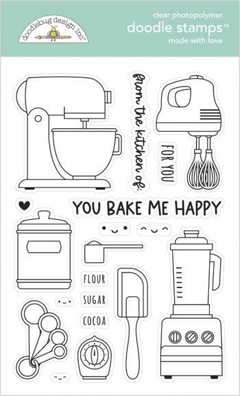doodlebug design made with love doodle stamps 7104