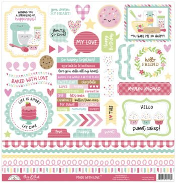 doodlebug design made with love this that sticker