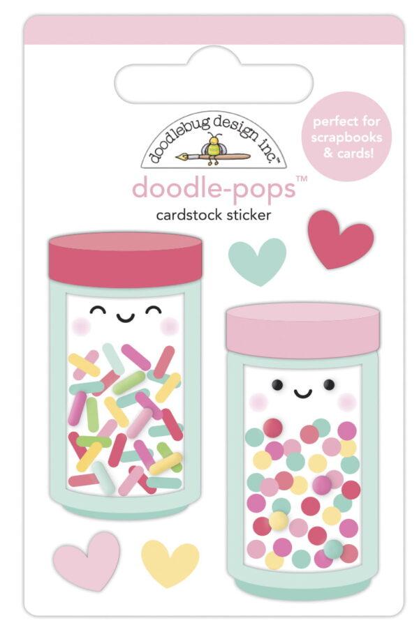 doodlebug design sprinkle shoppe doodle pops 7097