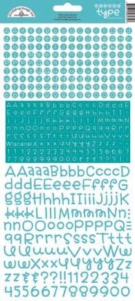 doodlebug design swimming pool teensy type sticker