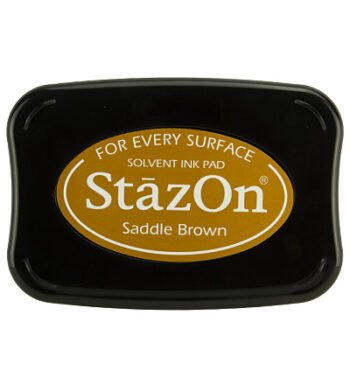 id saddle brown stazon ink