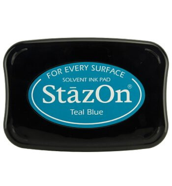 id teal blue stazon ink