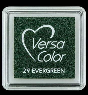 id vs 000 029 evergreen versacolor small inkpad pigment ink stamping tsukineko