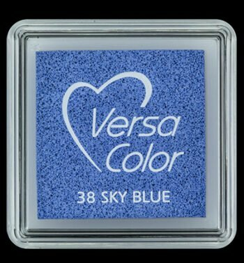 id vs 000 038 sky blue versacolor small inkpad pigment ink stamping tsukineko