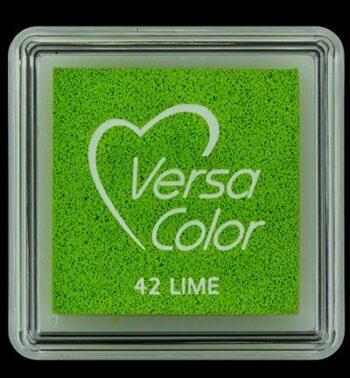 id vs 000 042 lime versacolor small inkpad pigment ink stamping tsukineko