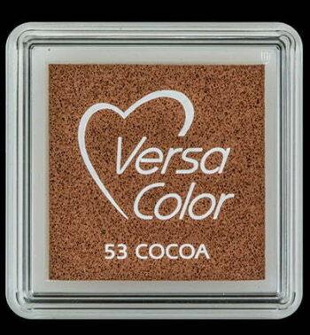 id vs 000 053 cocoa versacolor small inkpad pigment ink stamping tsukineko