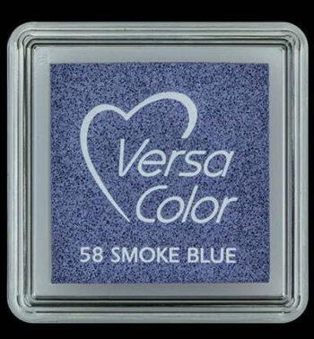 id vs 000 058 smoke blue versacolor small inkpad pigment ink stamping tsukineko