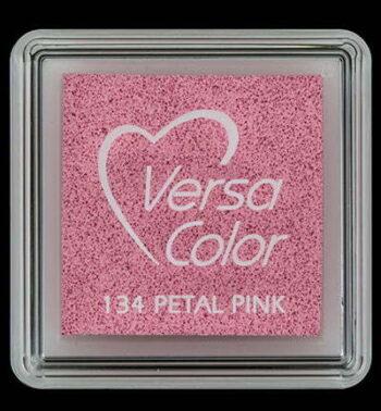 id vs 000 134 petal pink versacolor small inkpad pigment ink stamping tsukineko