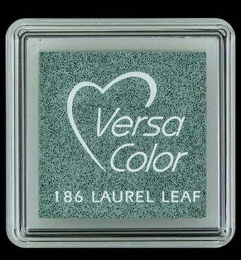 id vs 000 186 laurel leaf versacolor small inkpad pigment ink stamping tsukineko