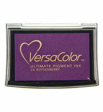 id vs 001 026 boysenberry versacolor fullsize inkpad pigment ink stamping tsukineko