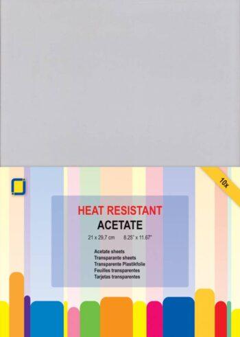 jeje produkt acetate sheets heat resistant a4 3103