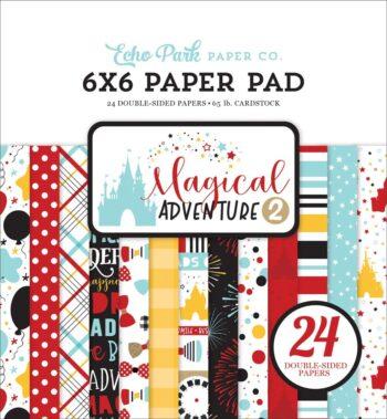 mag177023 magical adventure 2 6x6 paper pad