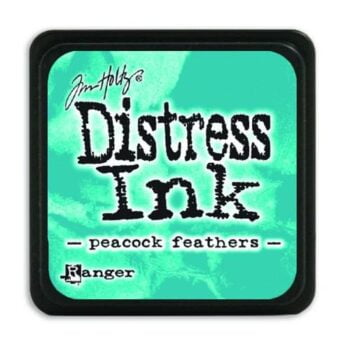ranger distress mini ink pad peacock feathers tdp40064 tim holtz 28196 1 g