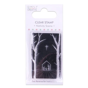 simply creative nativity scene clear stamp scstp01