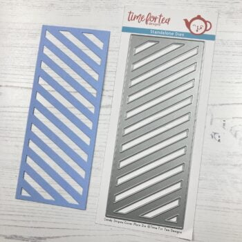 time for tea candy stripes slimline die t4t 422 ca 4