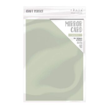 craft perfect mirror card craft perfect mirror card satin effect spring silver a4 250gsm 5 sheets 9477e 11999927500842 998x998 1