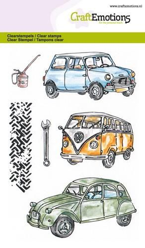 craftemotions clearstamps a6 classic cars 1 03 18 46249 1 g