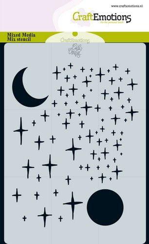 craftemotions mask stencil angel bear sterren en maan carla c 313085 nl g