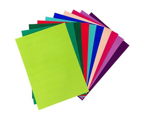 joy crafts fluweel papier zelfklevend felle kleuren 10vl 8011 00 319728 nl g