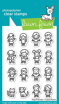 lf2506 tiny friends sm lawn fawn clear stamps