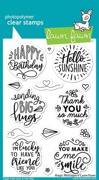 lf2508 magic messages sm lawn fawn clear stamps