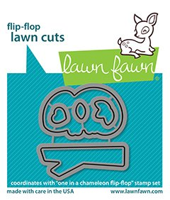 lf2513 one in a chameleon flipflop lawn cuts sm coordinating lawn fawn dies