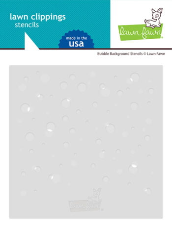 lf2534 bubble background stencils sm lawn fawn clippings