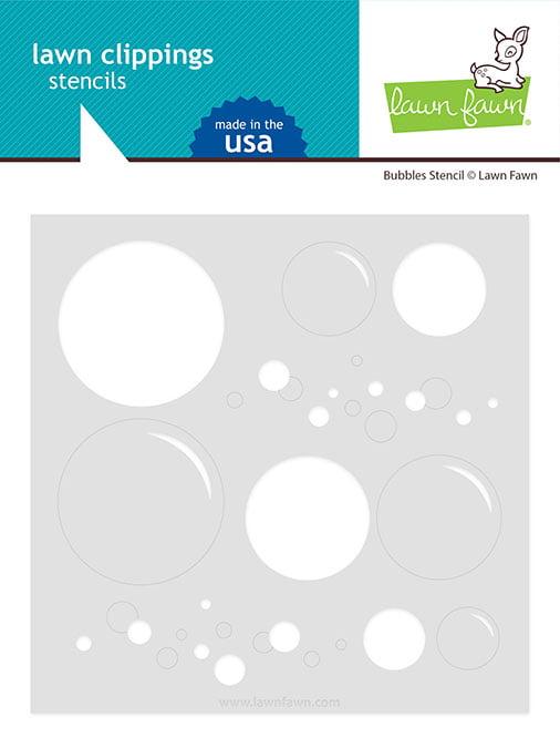lf2535 bubbles stencil sm lawn fawn clippings