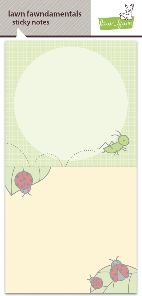 lf2542 a really bug deal sticky notes lawn fawn