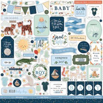 wbb234014 welcome baby boy element sticker 1