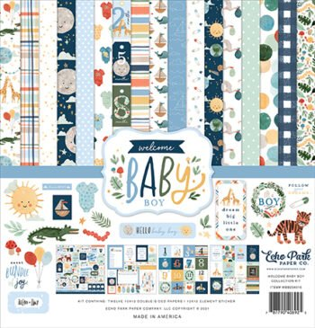 wbb234016 welcome baby boy collection kit