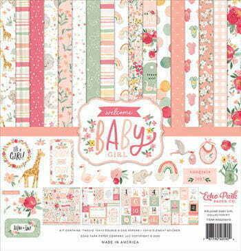 wbg233016 welcome baby girl collection kit