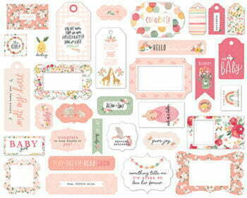 wbg233025 welcome baby girl frames tags