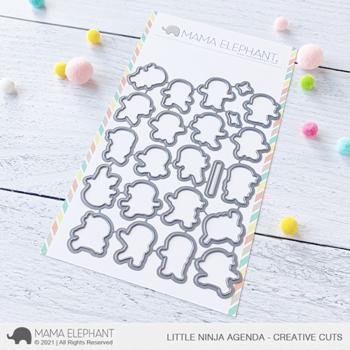 Mama Elephant Creative Cuts - Little Ninja Agenda