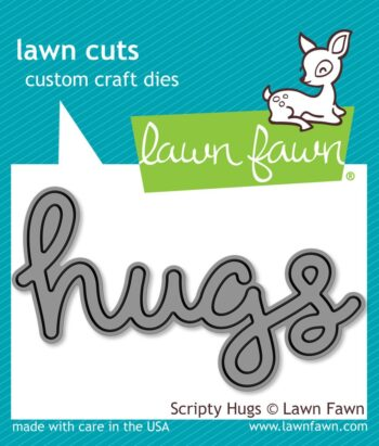 lf835 Lawn Fawn scripty hugs
