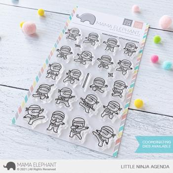 Mama Elephant Clear Stamps - Little Ninja Agenda