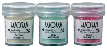 WOW Embossing Glitters trio pick me up