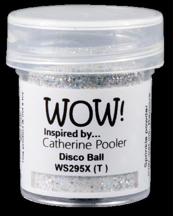 WOW Embossing Glitter ws295x disco ball