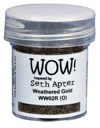 WOW Embossing Poeder ww02r weathered gold seth apter