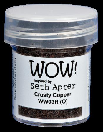 WOW Embossing Poeder ww03r crusty copper seth apter
