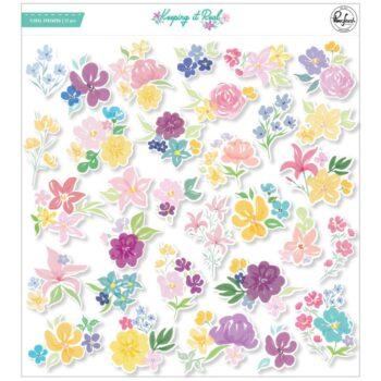 PinkFresh Keeping It Real Floral Ephemera
