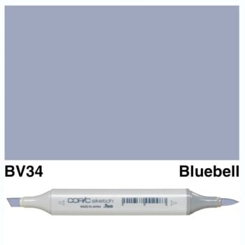 0018787 copic sketch bv34 bluebell