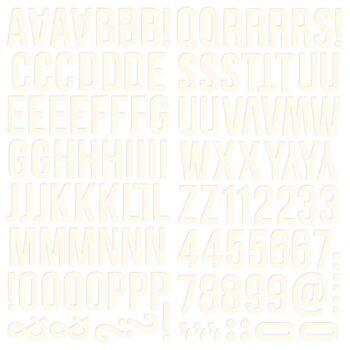 13433 colorvibe foamalpha white 0