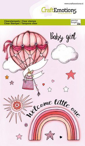 craftemotions clearstamps a6 babygirl eng gb 03 21 320110 nl g