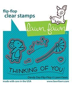 lf2563 lawn fawn creative cuts dies dandy day flipflop2 sml