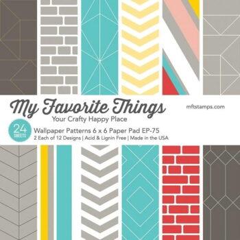 my favorite things wallpaper patterns 6x6 inch pap