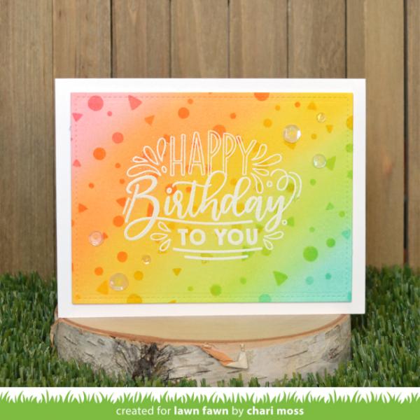 20giantbirthdaymessages confettistencils charimoss1