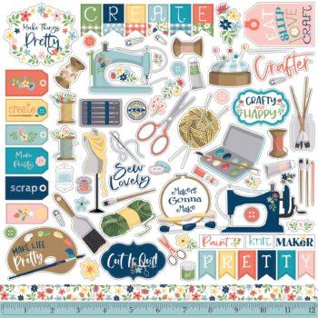 carta bella craft create 12x12 inch collection kit 10