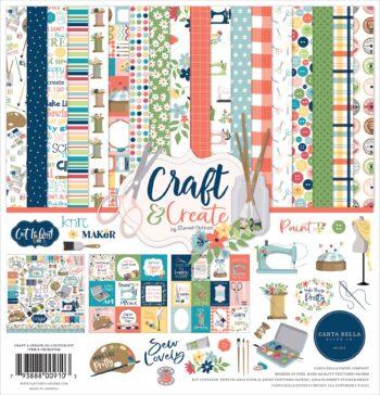 carta bella craft create 12x12 inch collection kit