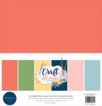 carta bella craft create 12x12 inch coordinating s